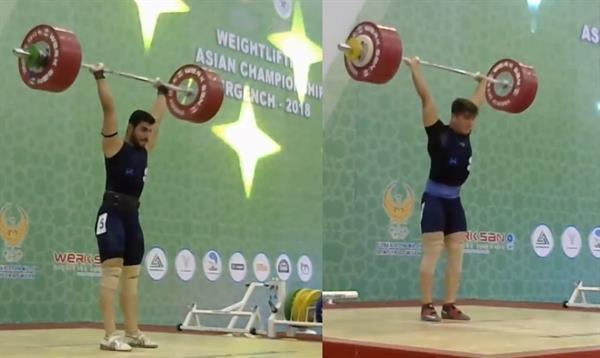 5 مدال رنگارنگ در دسته 85 کیلوگرم برای ایران به دست آمد