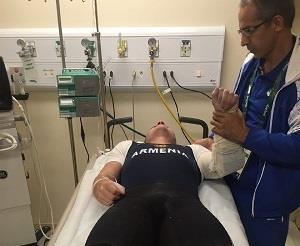 احتمال جراحی آرنج وزنه بردار 77 کیلویی ارمنی ها در ریو