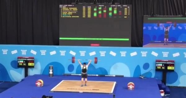 عسگری دون در بازی های المپیک نوجوانان چهارم شد