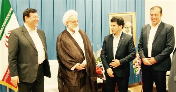 رئیس فدراسیون با نماینده ولی فقیه در استان ایلام دیدار کرد