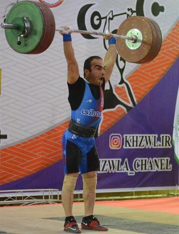 پشوتنی در دسته 61 کیلوگرم قهرمان شد