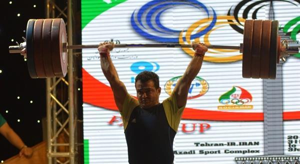 پایان رقابت دسته ۹۴ کیلوگرم