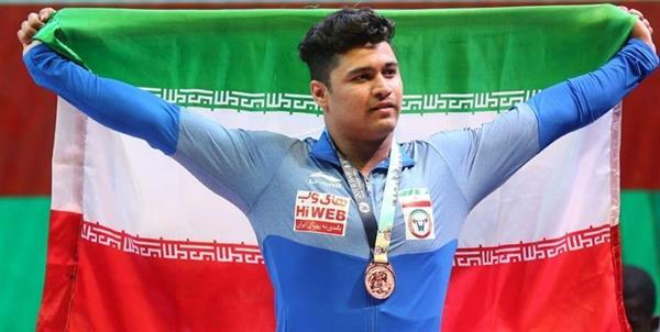 موسوی مدال نقره گرفت