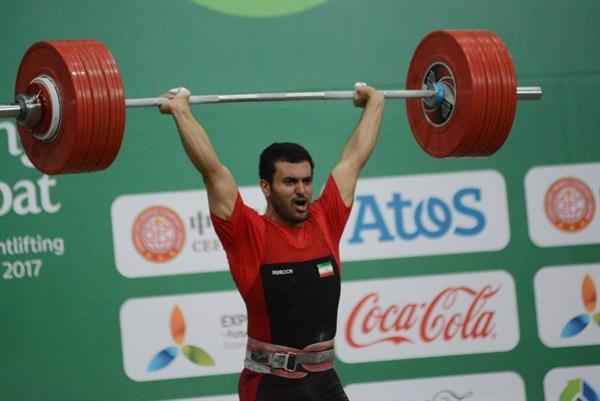 وزنهبرداران ایران در دو ضرب مدال نگرفتند