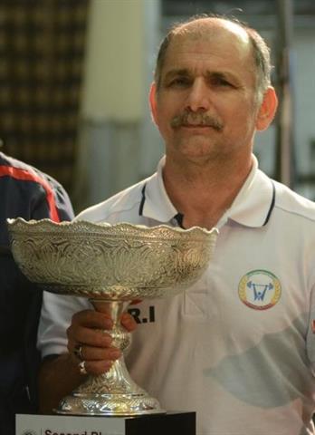 خورشیدی فر: سهراب با همه مشکلات، عنوان قهرمانی را کسب کرد