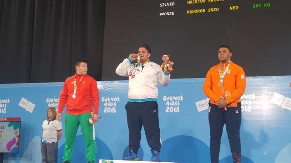 عنوان قویترین پسر بازیهای المپیک نوجوانان به ایران رسید