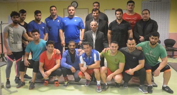مرحله نخست اردوی تیم ملی وزنه برداری