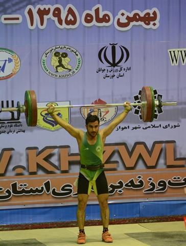 پس از پایان رقابت دسته 56 کیلوگرم قهرمانی کشور – اهواز
