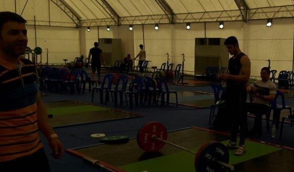 پس حضور اعضای تیم ملی وزنه برداری نوجوانان در تایلند