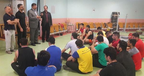 رئیس فدراسیون در تمرین ملی پوشان جوان حضور یافت