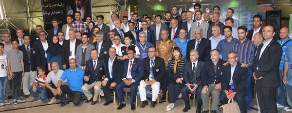 اختتامیه رقابتهای جام بین المللی فجر برگزار شد