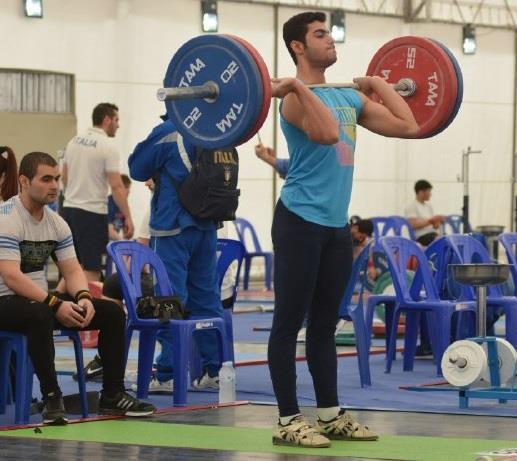 مسابقات وزنه برداری قهرمانی نوجوانان جهان در بانکوک تایلند