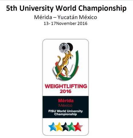 مسابقات وزنه برداری دانشجویان جهان-مکزیک