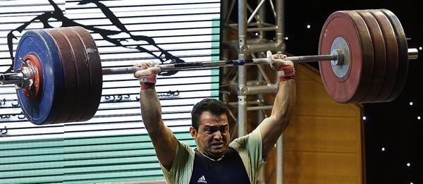 حضور سهراب مرادی در دومین گزینشی المپیک2016 ریو