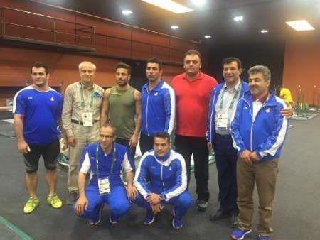 سومین جلسه تمرینی تیم ملی در ریو