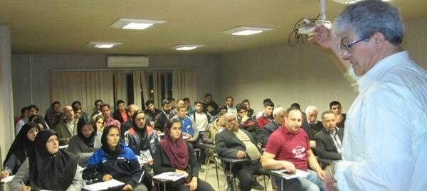 کارگاه آموزشی و بازآموزی قوانین داوری در زنجان برگزار شد
