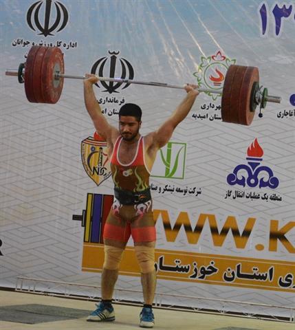 جوادی قهرمان دسته 81 کیلوگرم شد