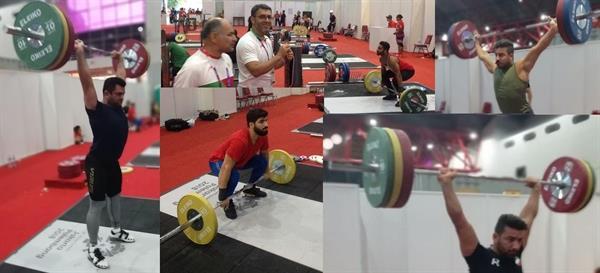 اولین تمرین وزنه برداران در جاکارتا برگزار شد