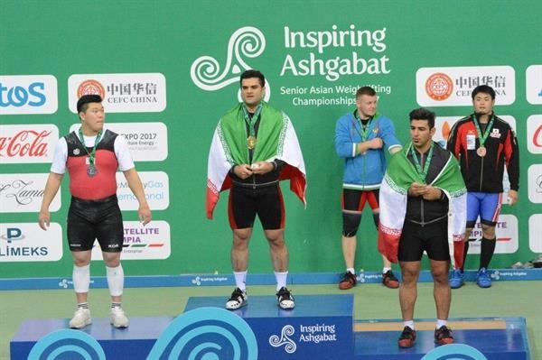 پیام تبریک کمیته ملی المپیک به دنبال قهرمانی وزنه برداران  کشورمان در آسیا