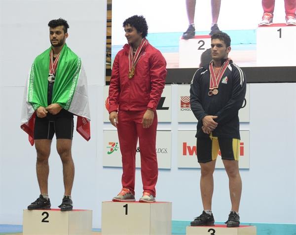 پس از کسب مدال نقره قهرمانی جوانان آسیا