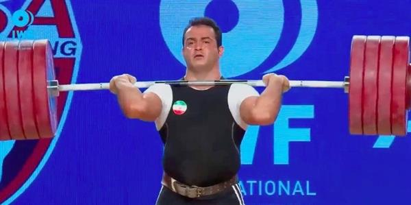 مرادی بعنوان بهترین وزنه بردار هفته سوم لیگ برتر معرفی شد