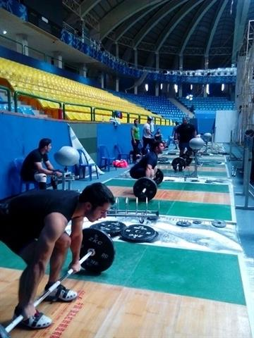 نخستین تمرین گروهی ملی پوشان وزنه برداری در تاشکند برگزار شد