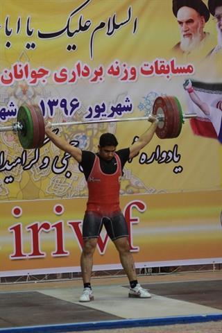 رحمان اورامه در دسته 94 کیلوگرم، سه مدال طلا گرفت