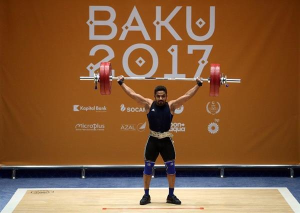 دشت اول برای وزنه برداری ایران در باکو