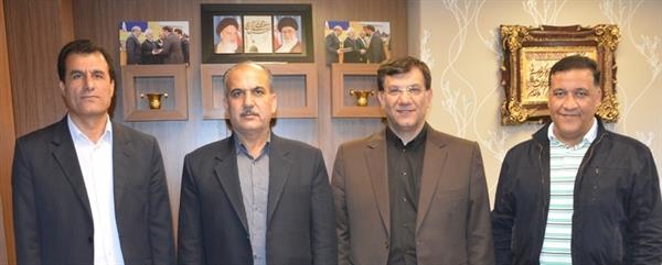 دیدار مدیرکل ورزش و جوانان استان بوشهر با رییس فدراسیون