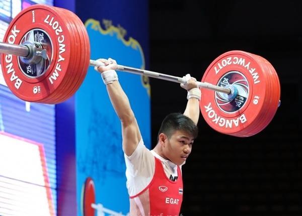 مسابقات وزنه برداری قهرمانی نوجوانان جهان- تایلند