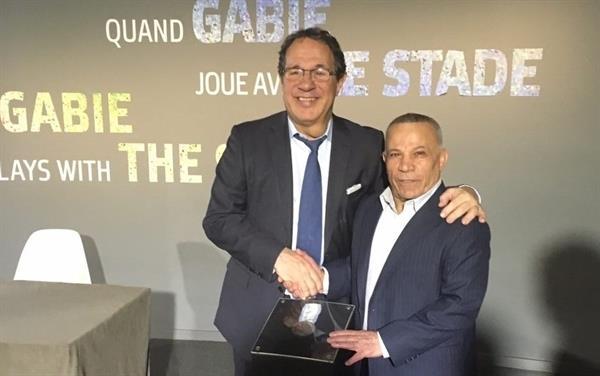 محمد نصیری مدال خود را به موزه  IOC اهدا کرد