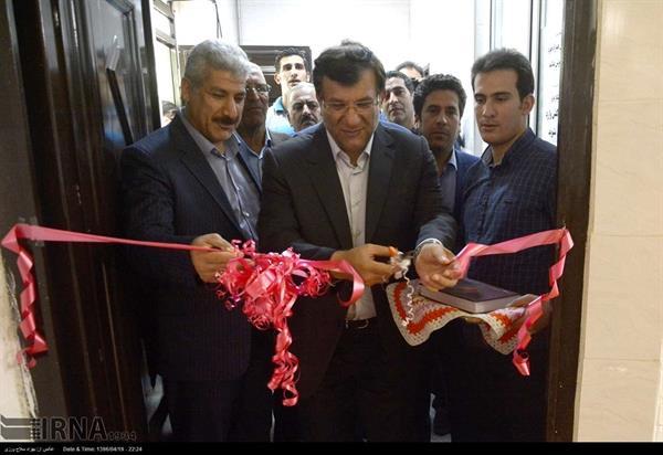 رئیس فدراسیون، خانه وزنه برداری استان لرستان را افتتاح کرد