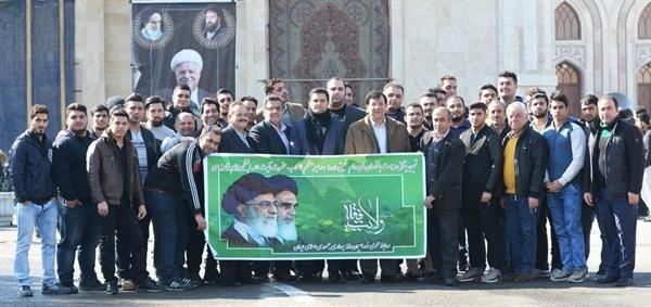 با حضور در حرم بنیانگذار انقلاب اسلامی
