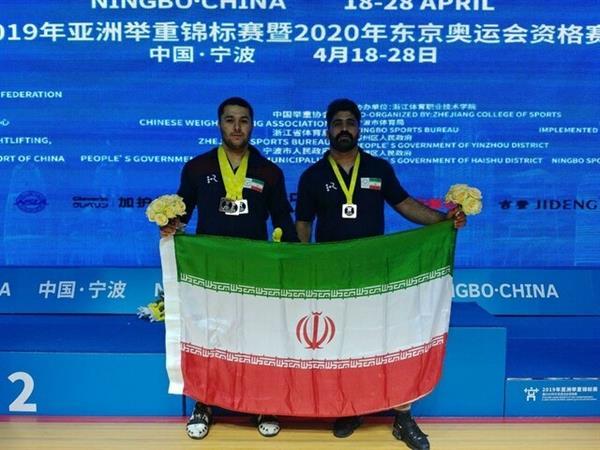کسب نخستین مدال در رقابتهای وزنه برداری قهرمانی 2019 آسیا