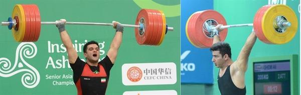 پس از کسب 5 مدال ارزشمند در دسته 105 کیلوگرم