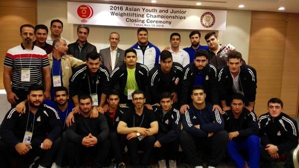 رقابتهای وزنه برداری قهرمانی نوجوانان و جوانان آسیا-ژاپن