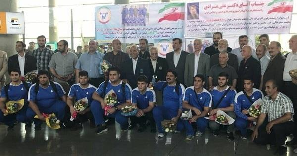 با استقبال مسئولان وزارت ورزش و جوانان و کمیته ملی المپیک