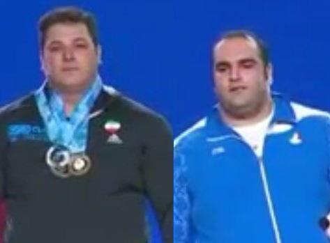 مدال نقره و برنز فوق سنگین جهان به کشورمان رسید