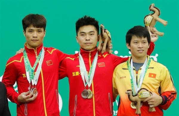رقابت های وزنه برداری قهرمانی بزرگسالان آسیا- ترکمنستان