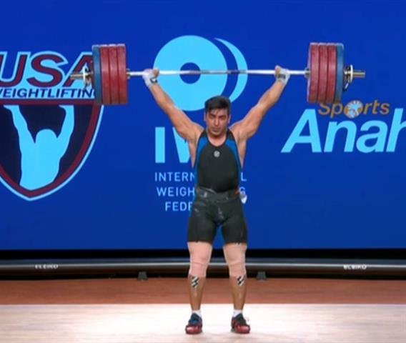 هاشمی نخستین مدال طلای جهان را در دسته 105 کیلوگرم برای ایران کسب کرد