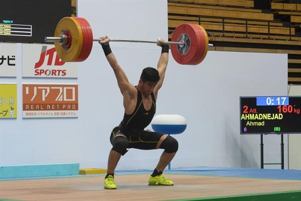 پس از کسب مدال نقره رقابتهای وزنه برداری قهرمانی نوجوانان آسیا