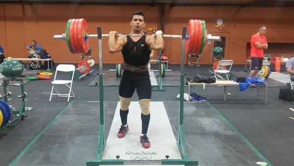 تمام حریفانم در وزن  94 کیلوگرم برای کسب مدال به روی تخته می آیند