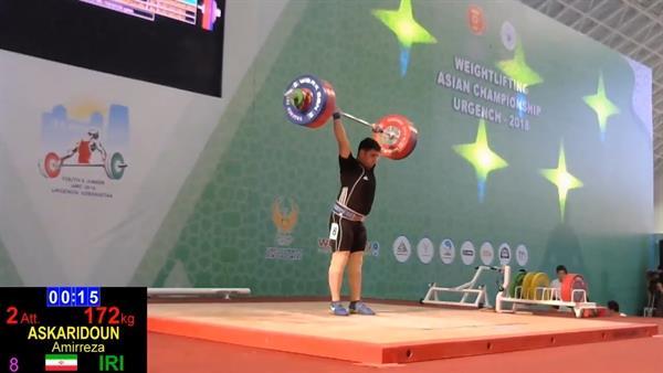 ملی پوشان نوجوان 5 مدال را در دسته 94 کیلوگرم صید کردند