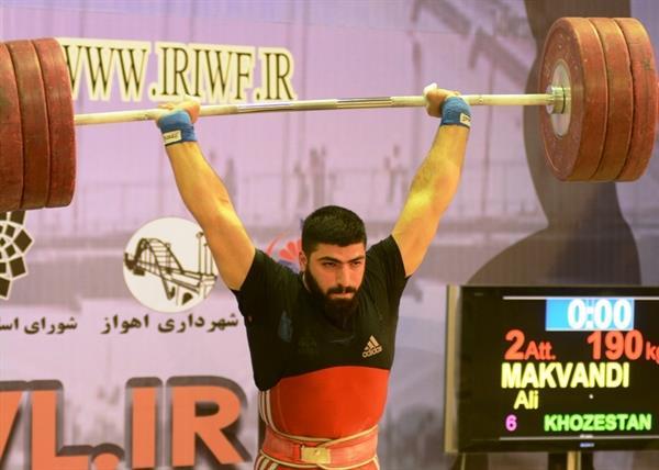 با پایان رقابت وزنه برداران دسته 85 کیلوگرم