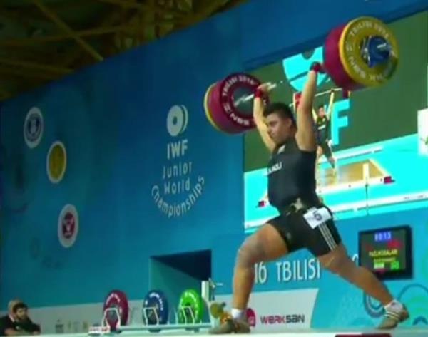 پایان رقابت دسته به اضافه 105 کیلوگرم جوانان جهان